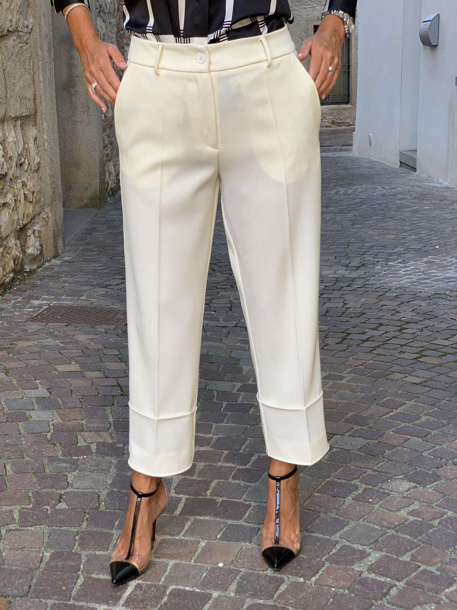 Pantalone Emilia NG71 panna