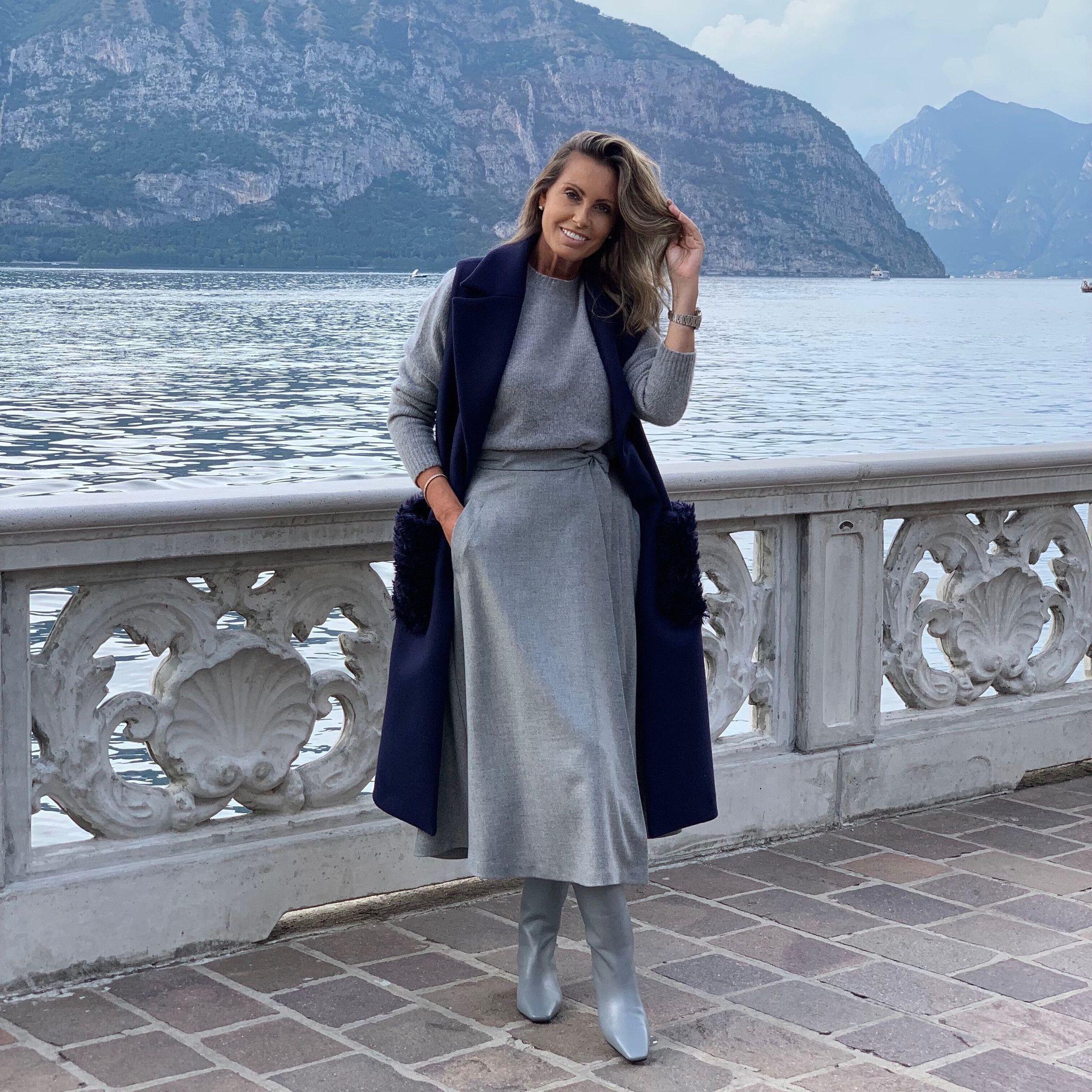 Gilet Margherita NG71 blu