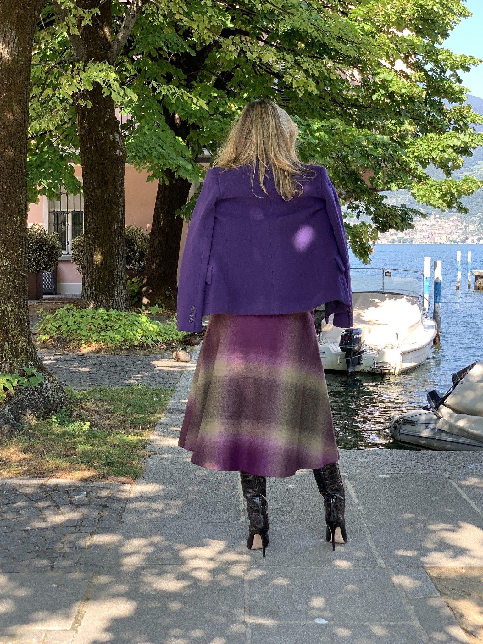 Giacca Dior MARTINELLY viola