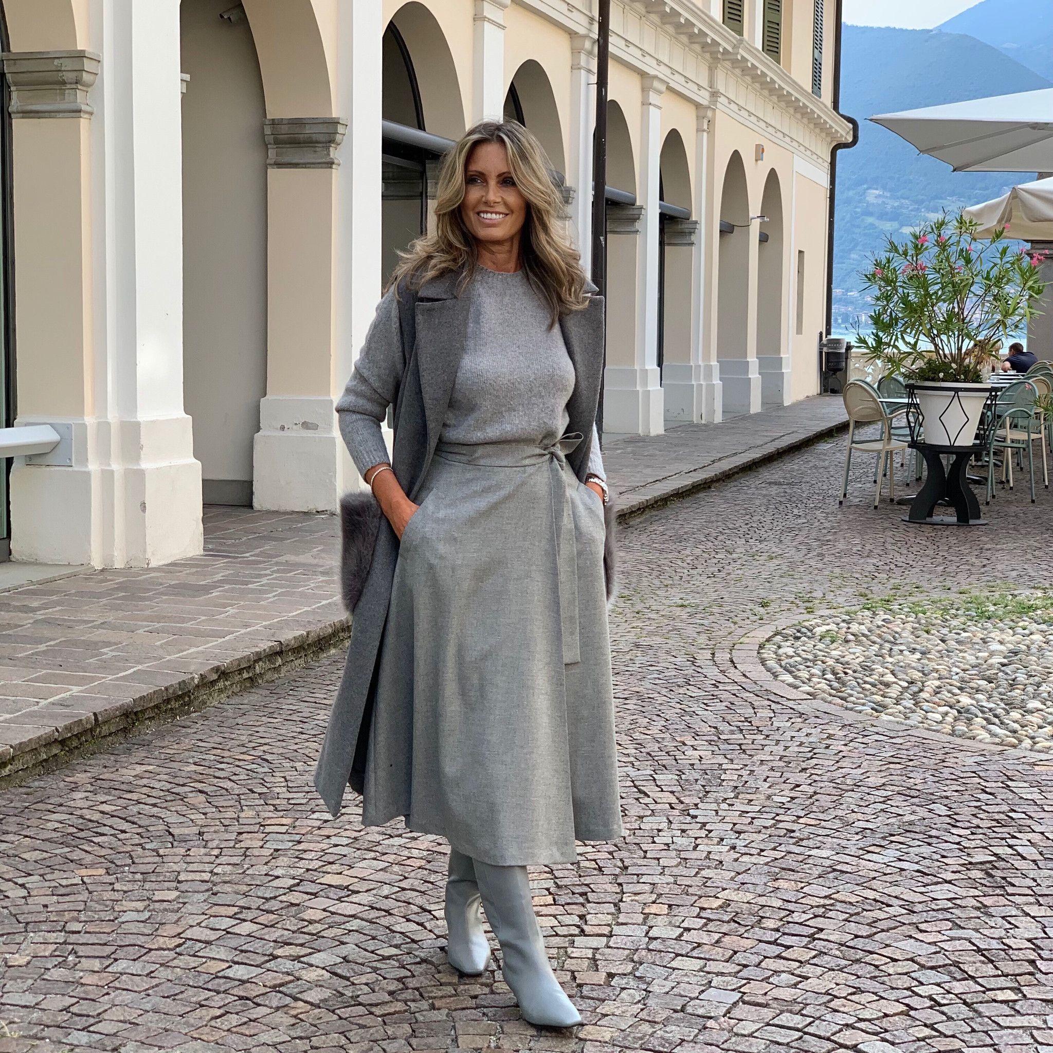 Gilet Margherita NG71 grigio
