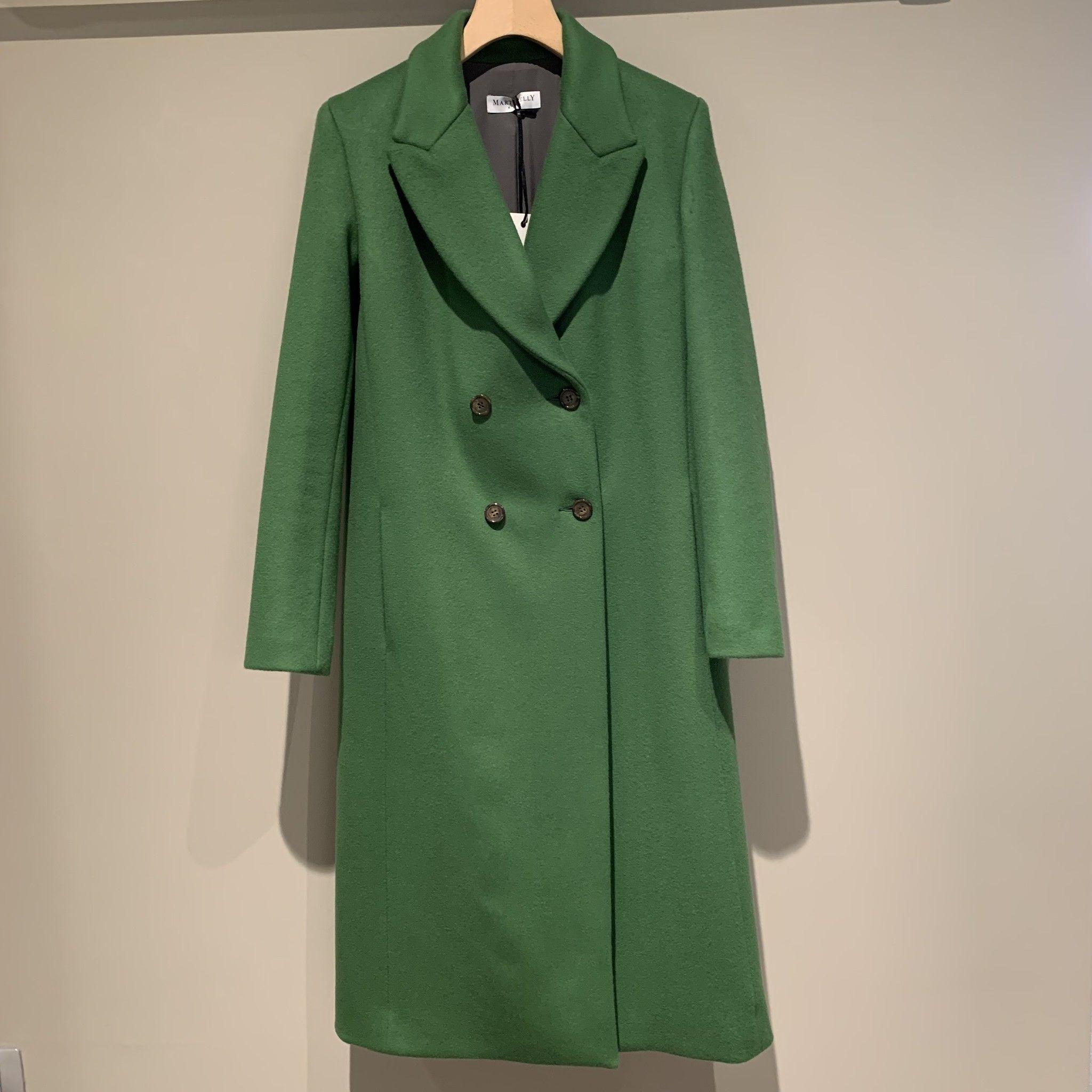 Cappotto doppiopetto MARTINELLY verde