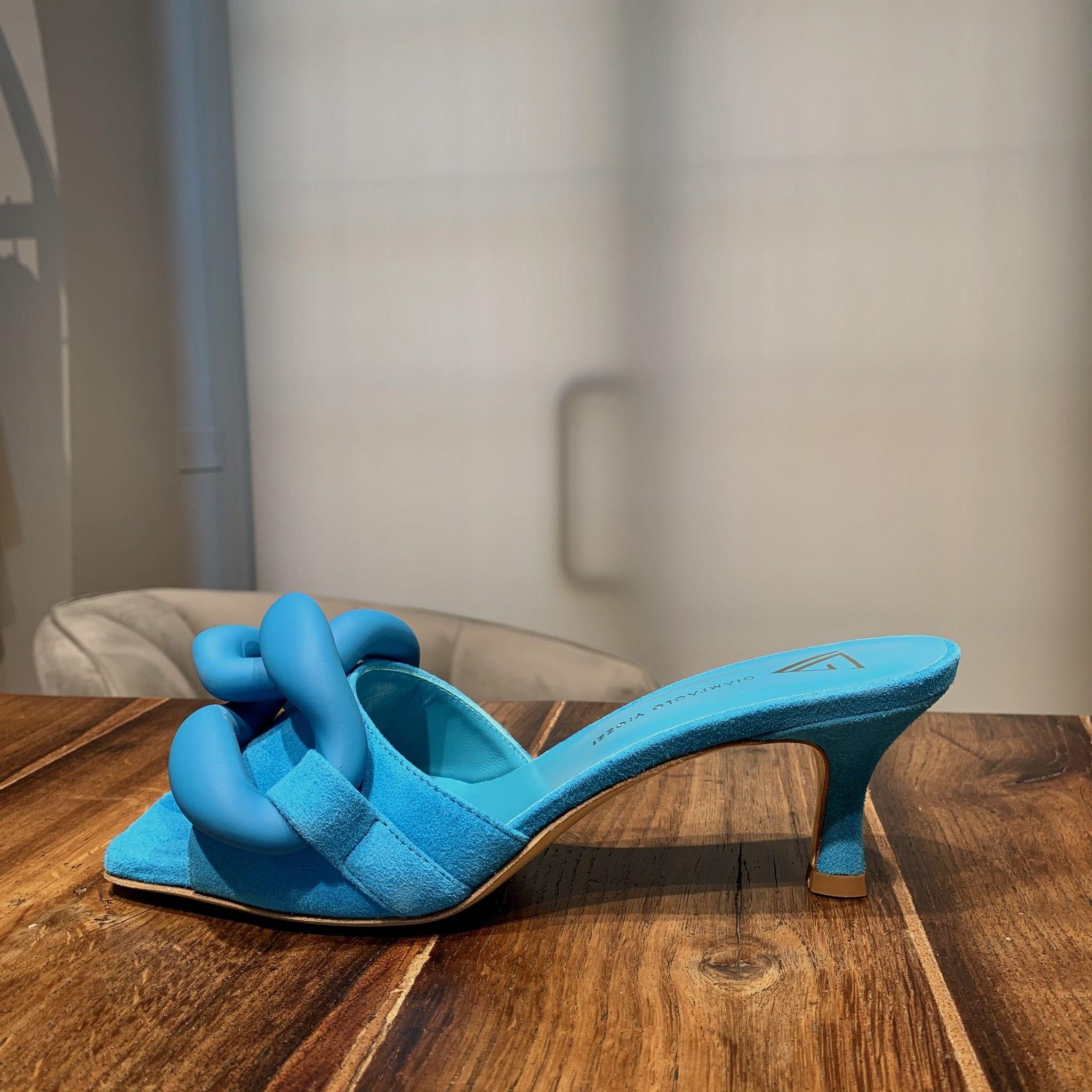 Sandalo azzurro LE VIOZZI