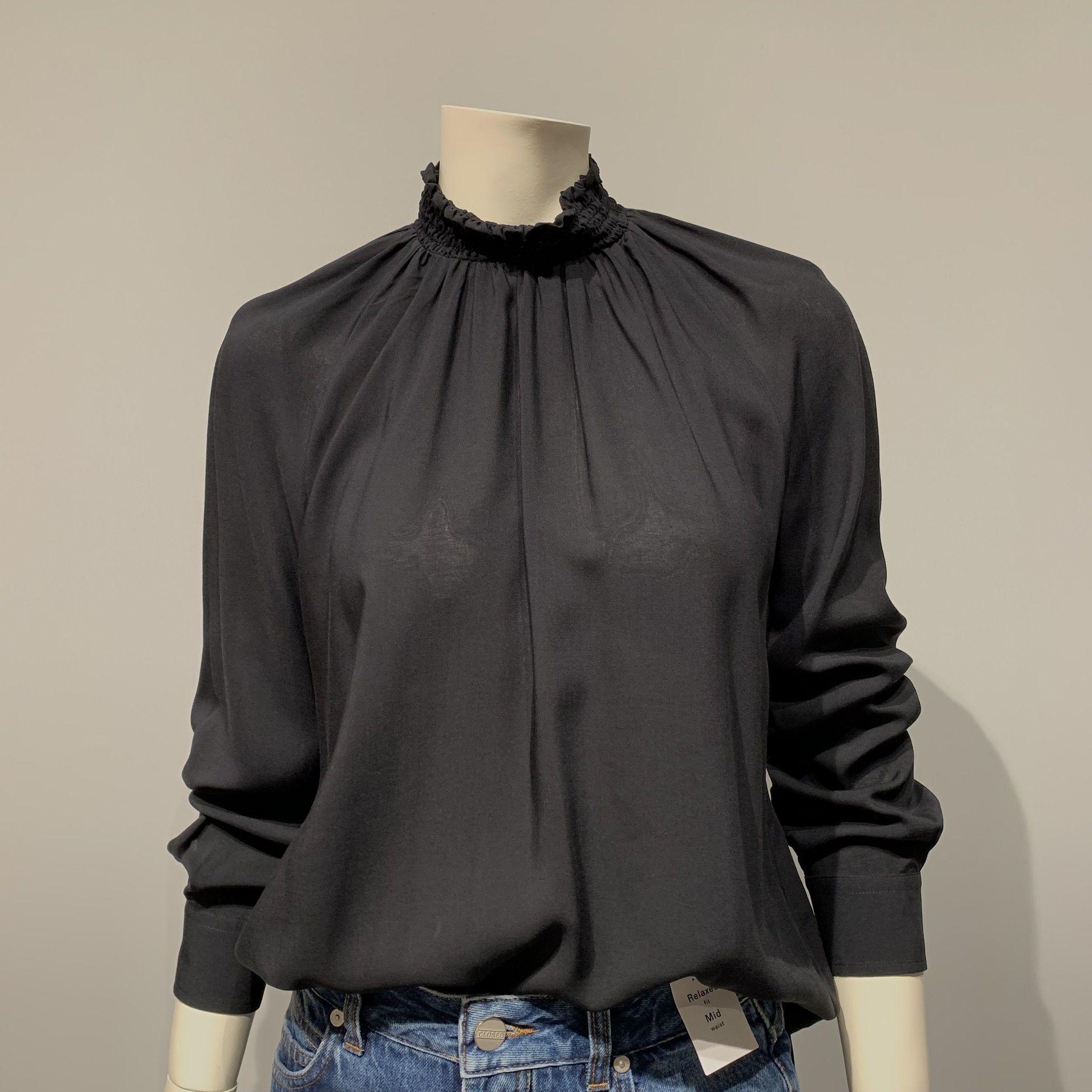 Camicia nera GUGLIELMINOTTI viscosa