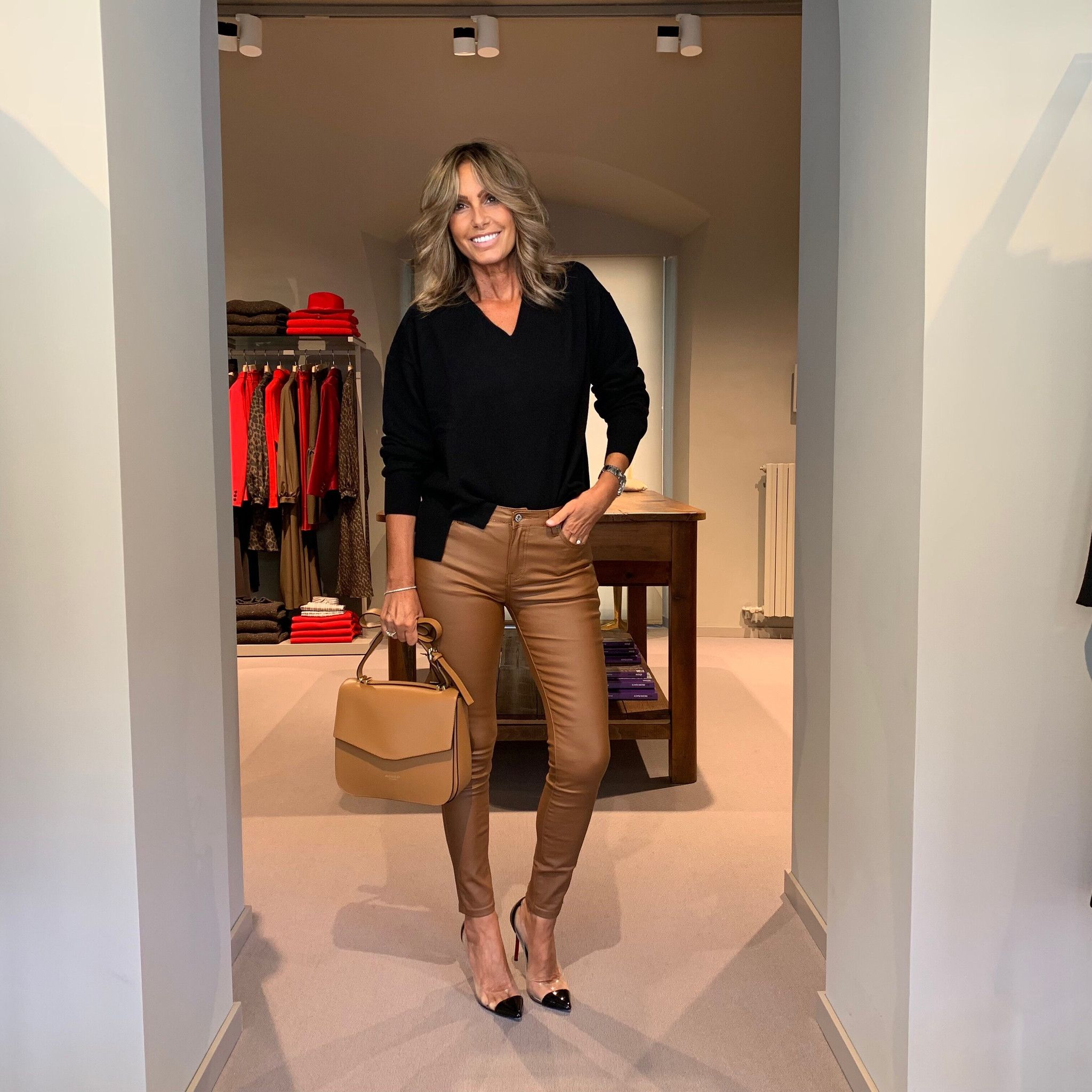 Jeans ecopelle bruciato MARTINELLY