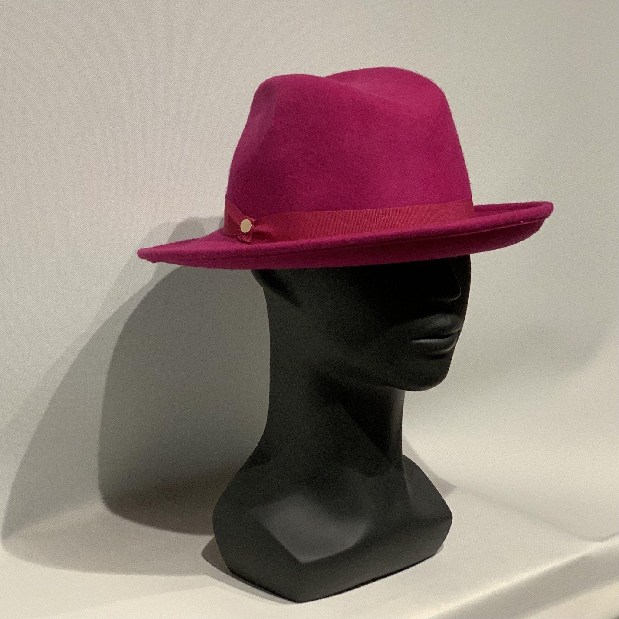 Cappello fucsia MANZONI CAPPELLI