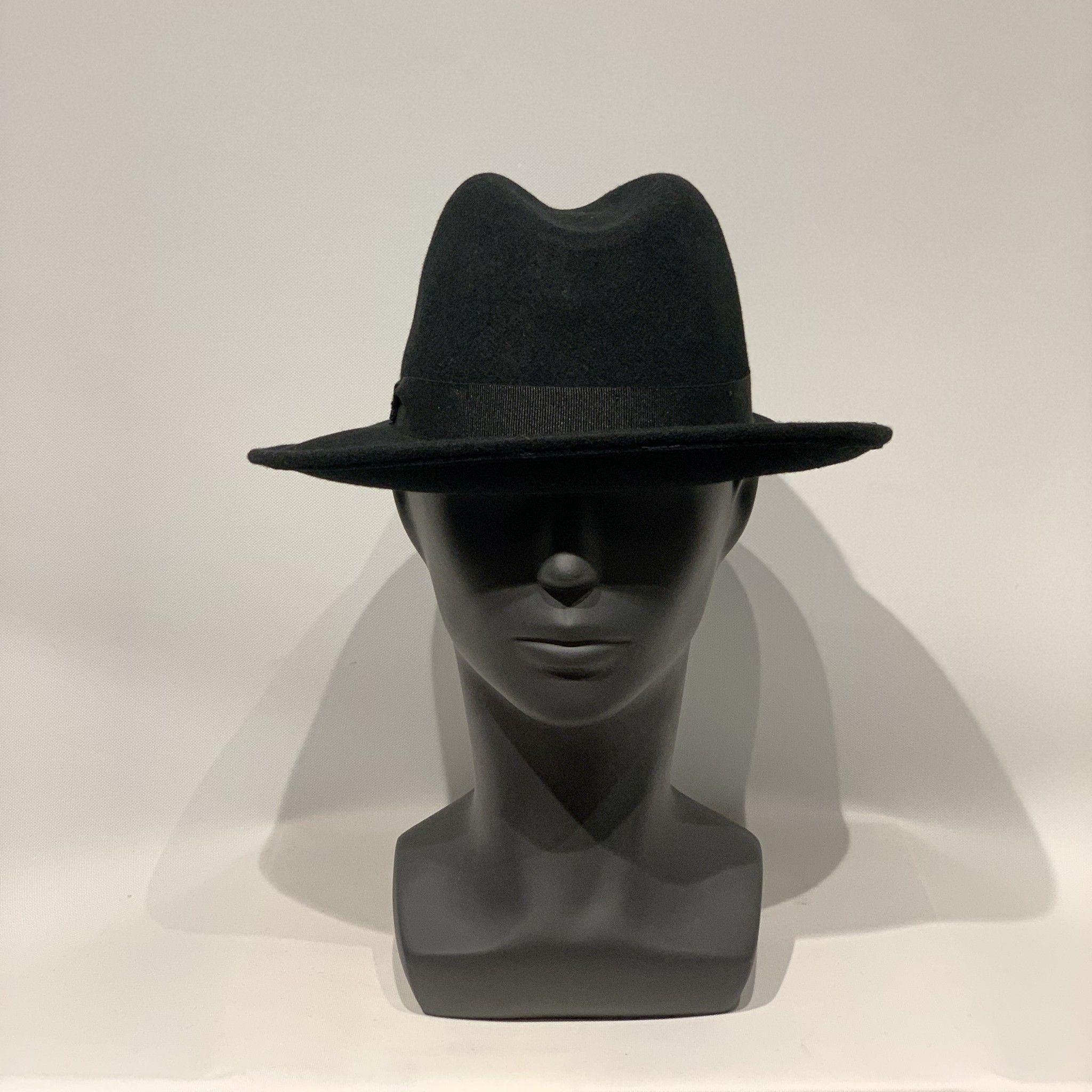 Cappello nero MANZONI CAPPELLI