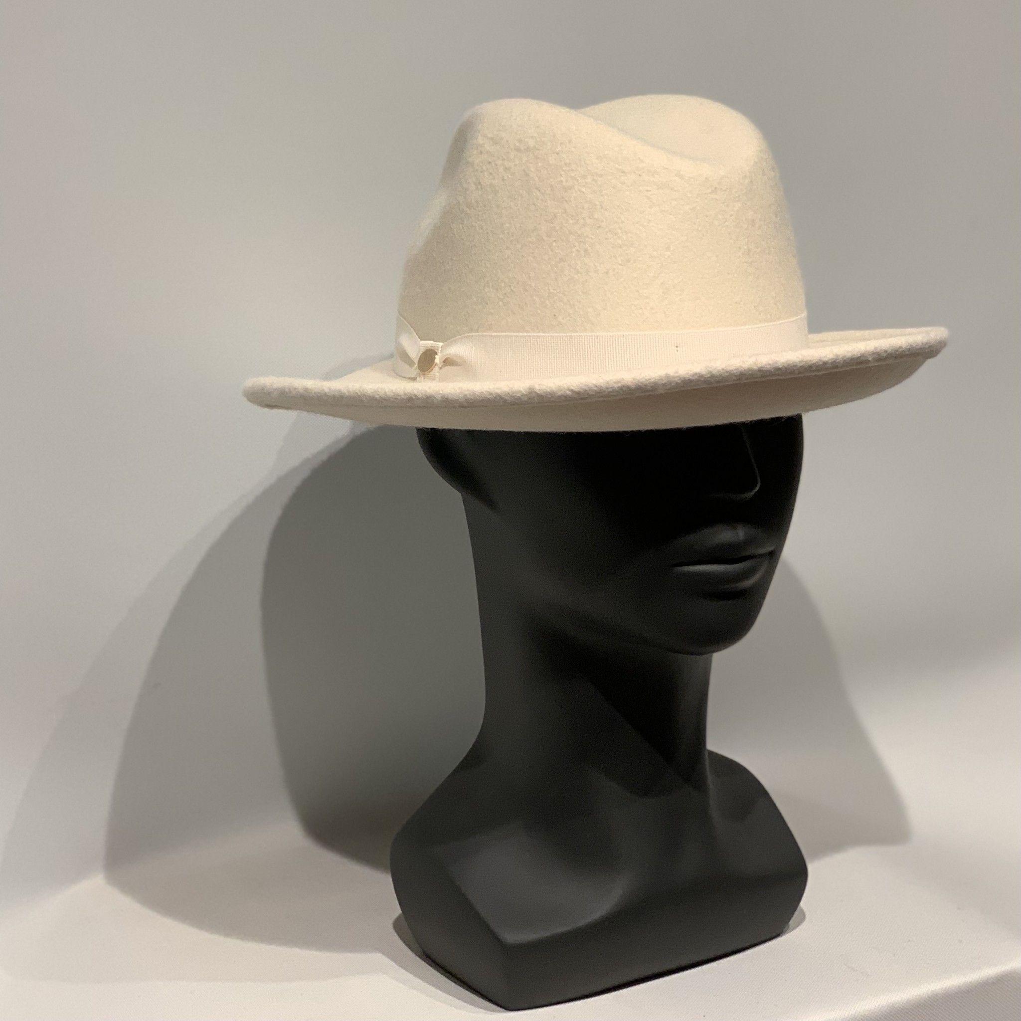 Cappello panna MANZONI CAPPELLI