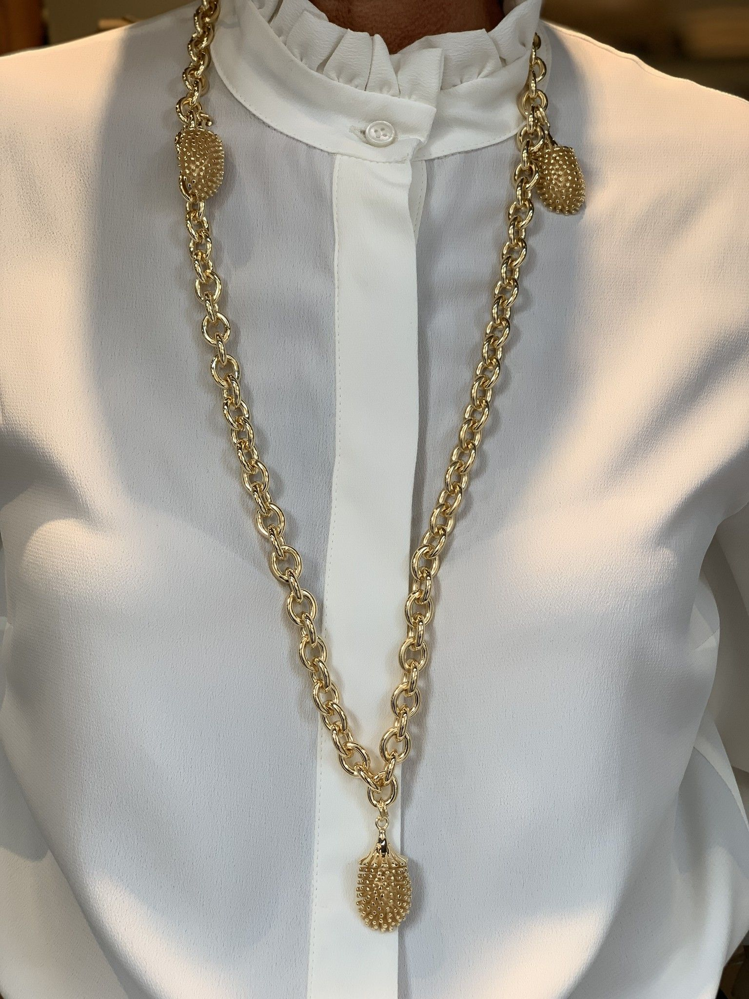 Cintura catena JOY riccio