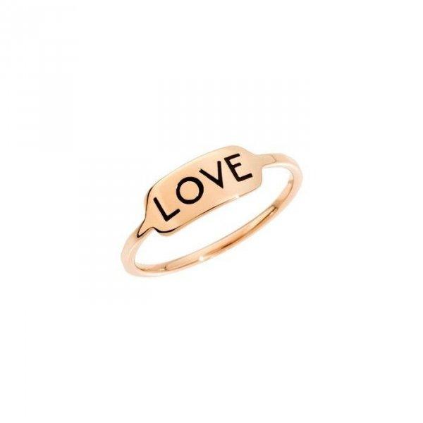 ANELLO LOVE DODO ORO ROSA 9KT  ADRET9/LOVE/K-52