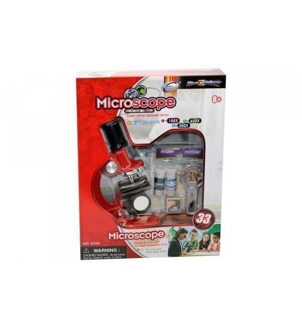 MICROSCOPIO 100-300-600X