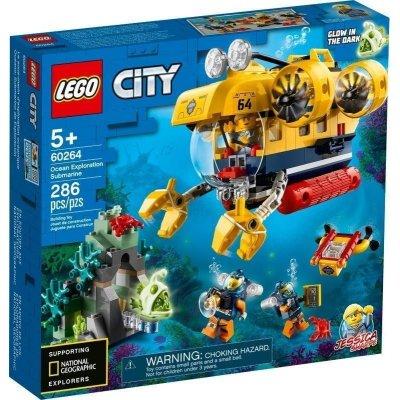 LEGO 60264 SOTTOMARINO ESPLORAZIONE CITY