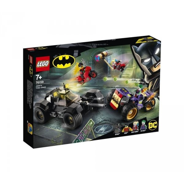 LEGO 76159 ALL'INSEGUIMENTO DI JOKER