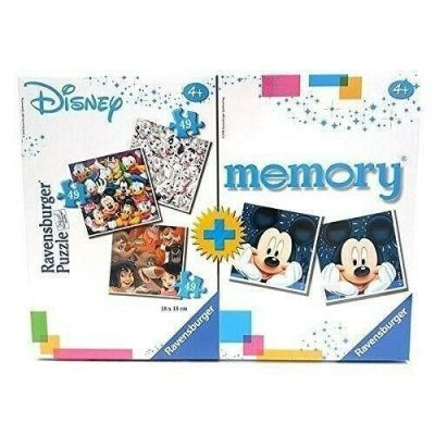 MULTIPACK DOSNEY PUZZLE 3X49 + MEMORY 91912