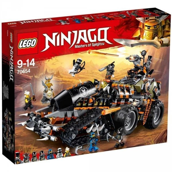 LEGO 70654 TURBO CINGOLATO NINJAGO