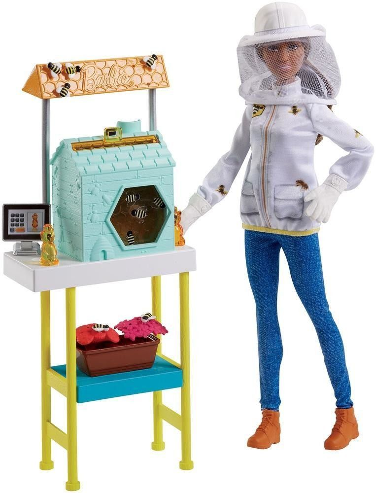 BARBIE CARRIERE CON PLAYSET DHB63