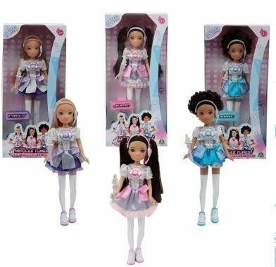 MIRACLE TUNES BAMBOLA FASHION DOLL ASSORTITE MRC13000