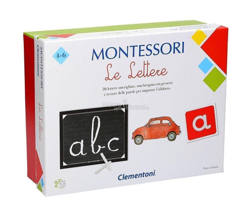 MONTESSORI LE LETTERE 16098 CLEMENTONI