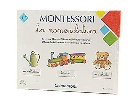MONTESSORI LA NOMENCLATURA 16101 CLEMENTONI