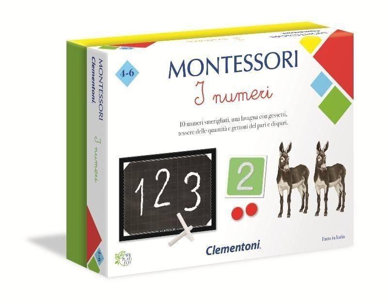 MONTESSORI I NUMERI 16099 CLEMENTONI