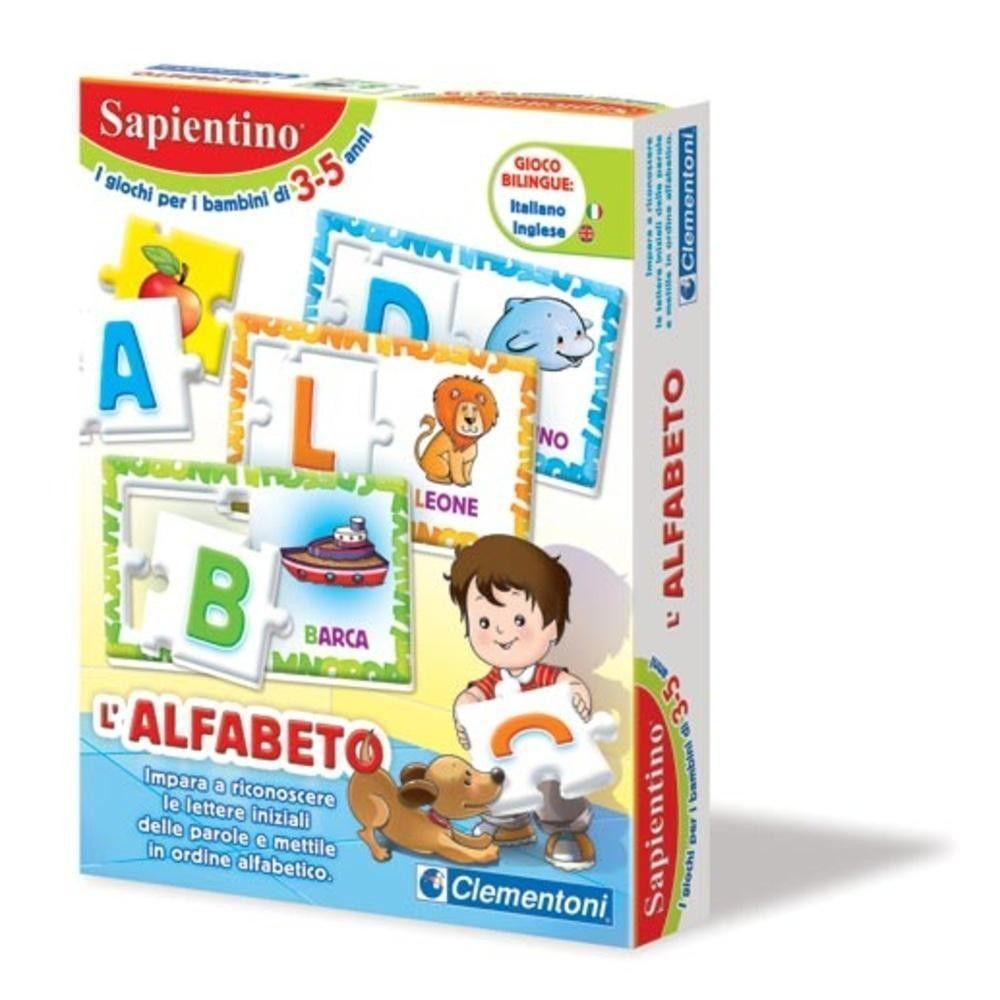 SAPIENTINO L'ALFABETO CLEMENTONI 12893