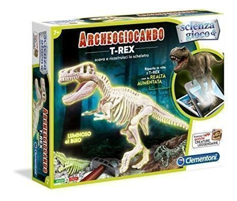 Scienza e gioco 13980 T-Rex Glow in the dark Clementoni