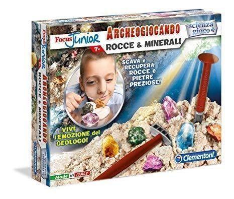 Clementoni 13809 - Focus Junior Archeogiocando Rocce e Minerali