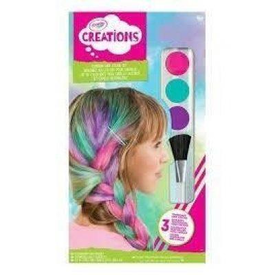Crayola capelli arcobaleno color set 04-6234