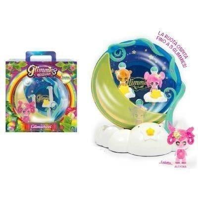 Glimmies Rainbow Friends Glimwheel con Mini Doll Esclusiva