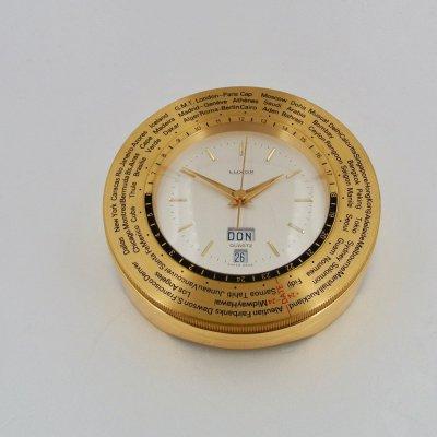 LUXOR orologio da tavolo in ottone