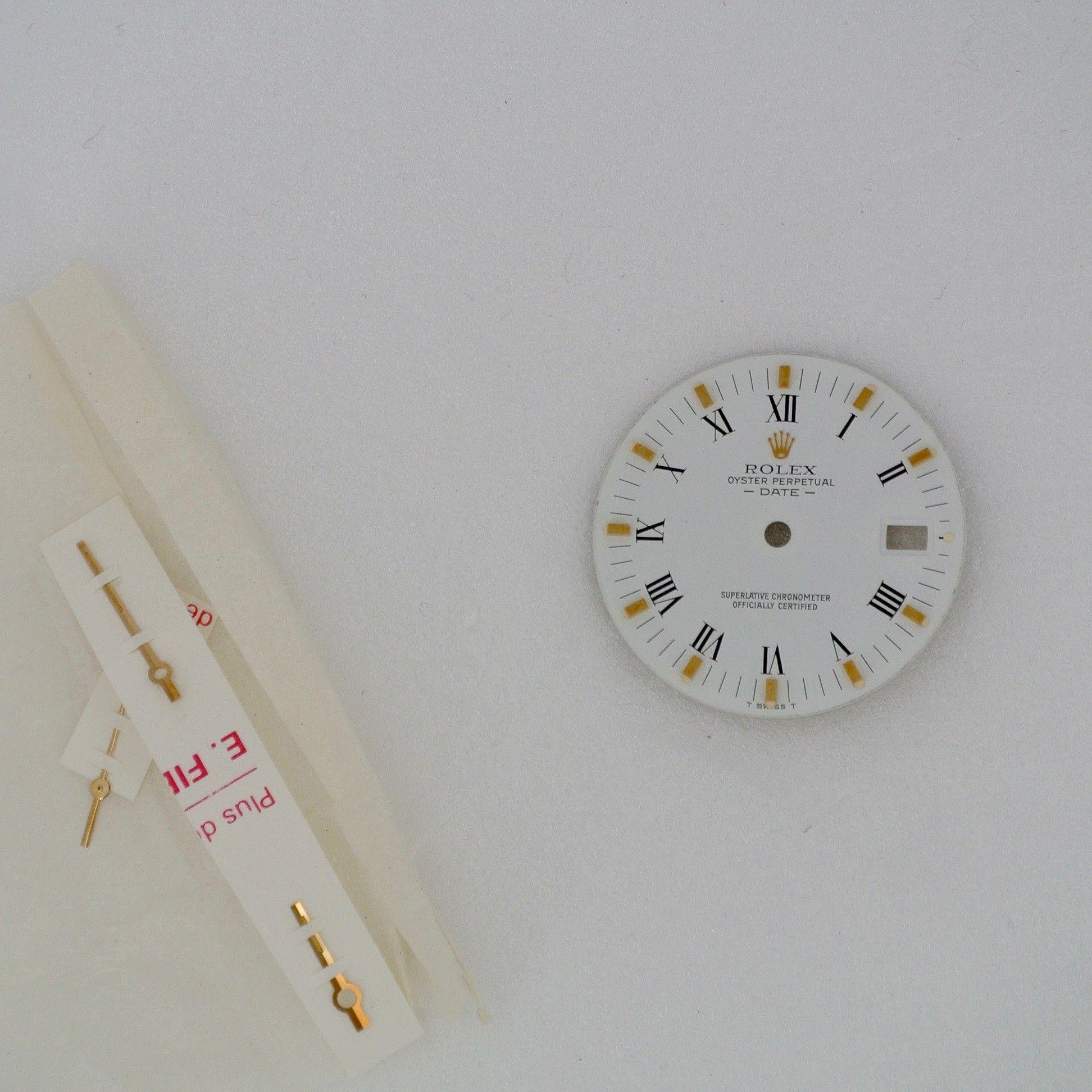 Quadrante Rolex Date acc/oro 34 mm