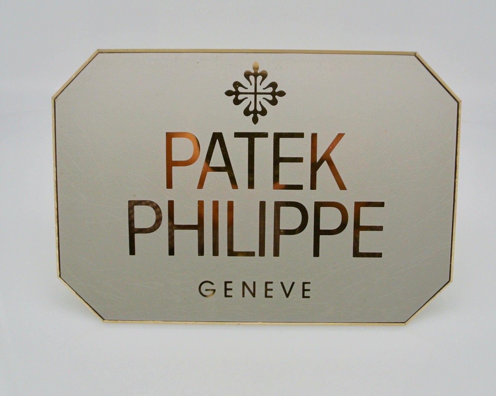 PATEK PHILIPPE  targa display grande