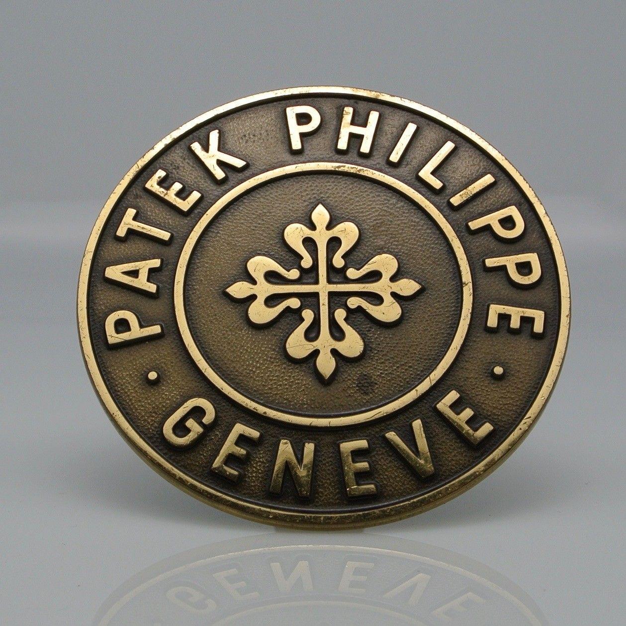 PATEK  PHILIPPE targa tonda bronzo vintage