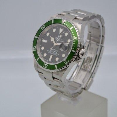 Rolex Submariner Date Green Bezel Fat Four series F43