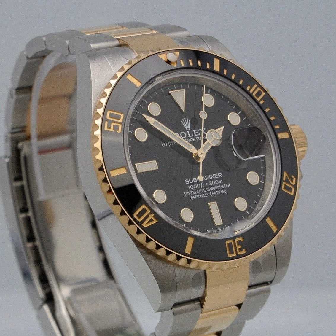 Rolex Submariner Date 41 steel/gold black dial