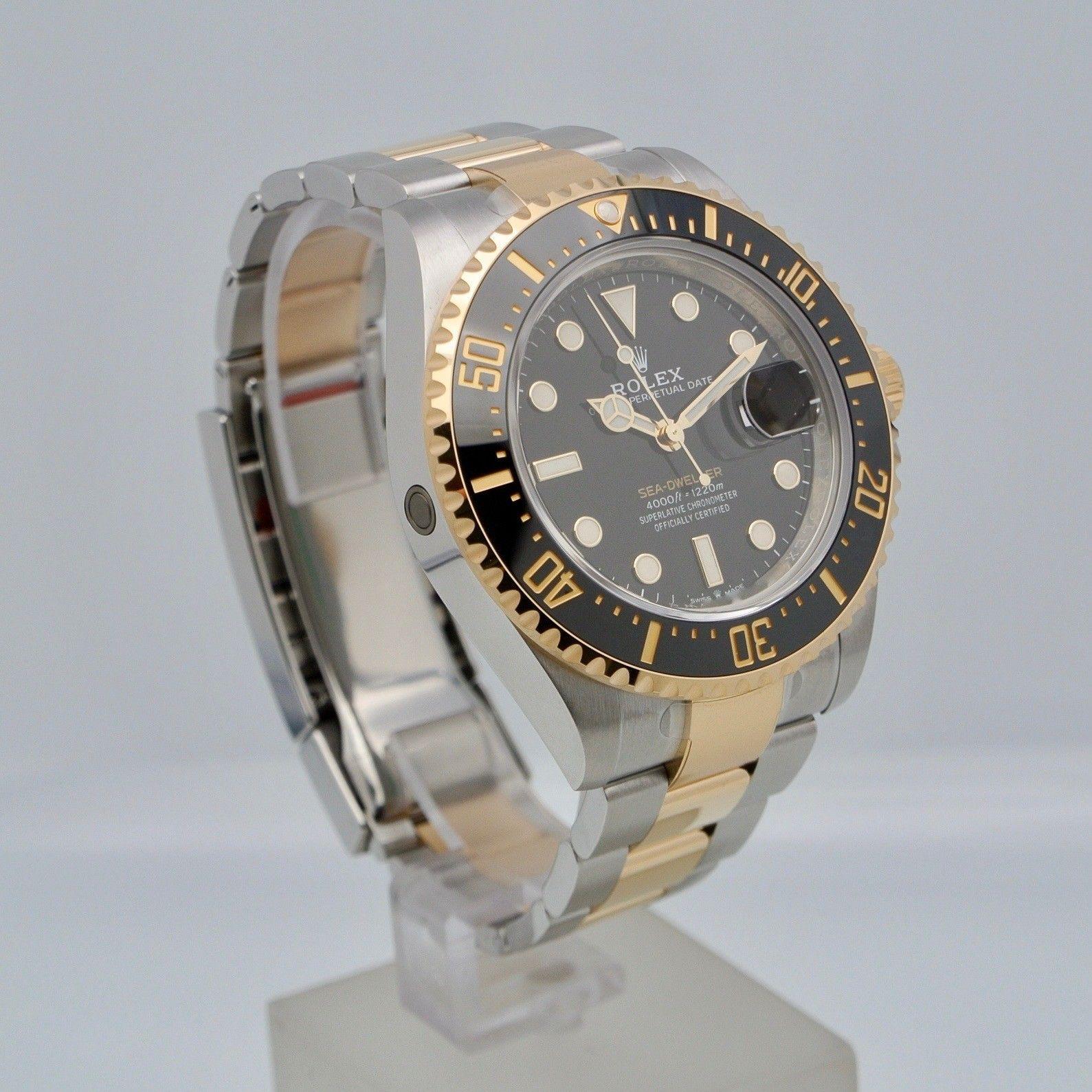 Rolex Sea-Dweller steel/gold