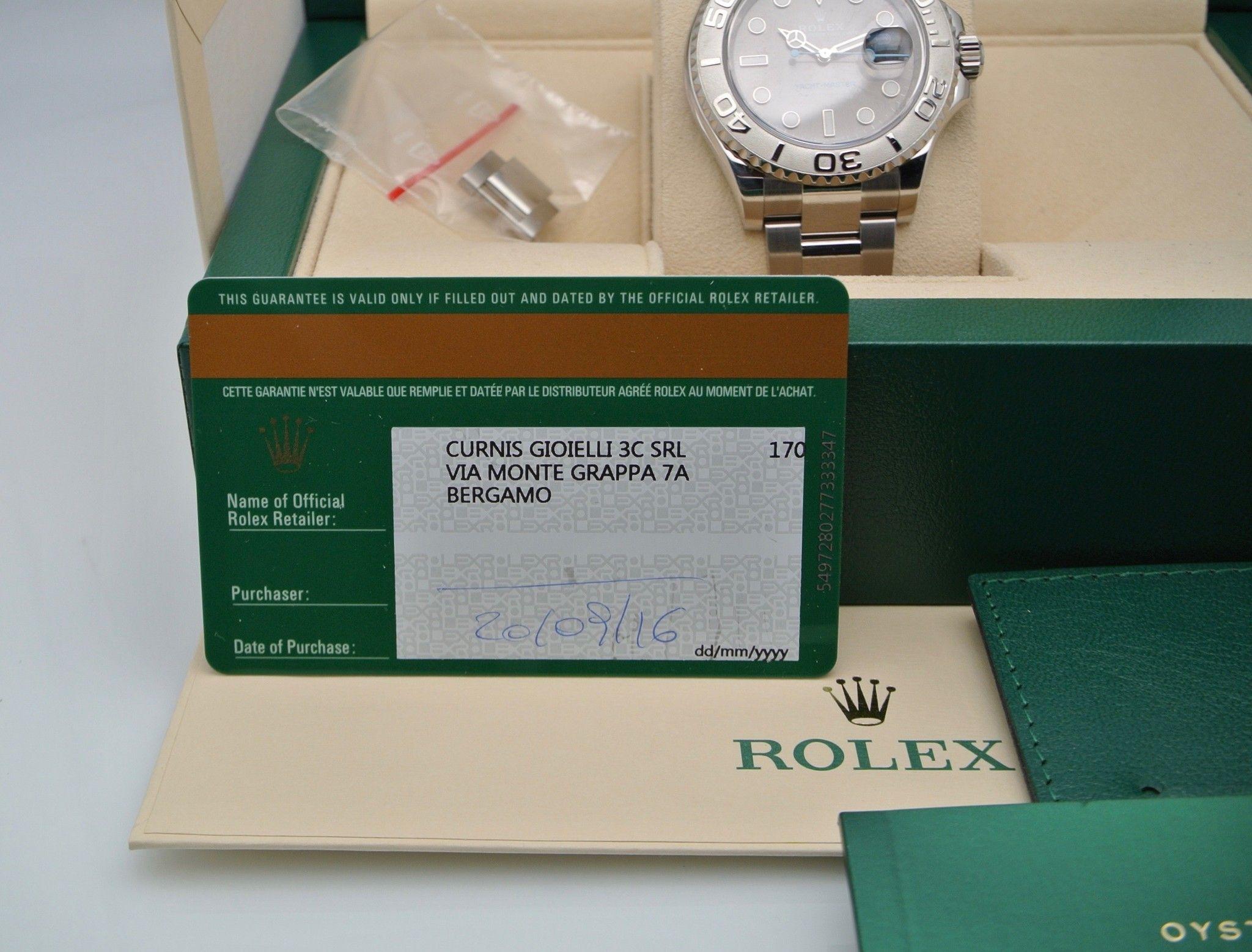 Rolex Yacht-Master 40 Dark Rodium