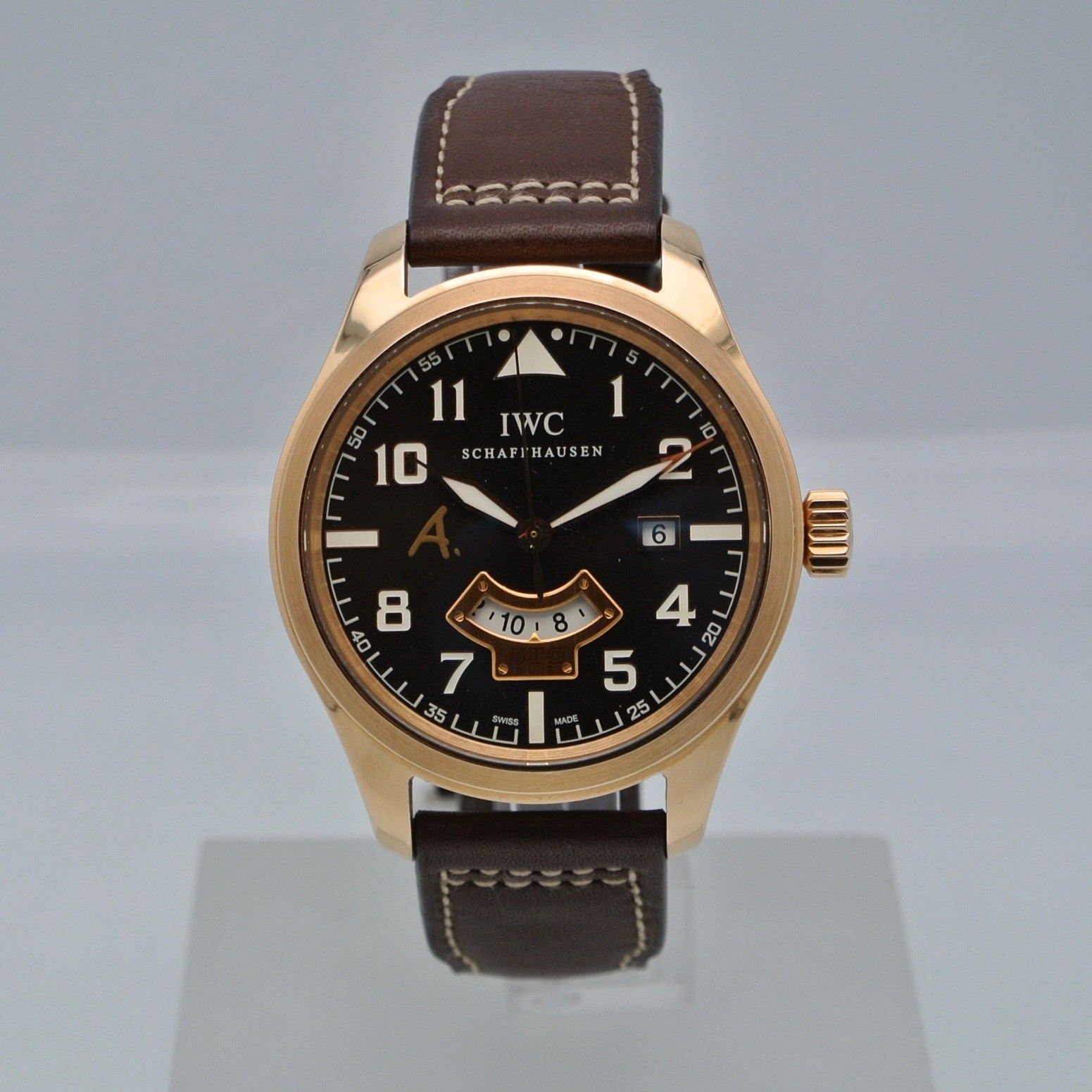 IWC Pilot UTC A. de Saint Exupery Rose Gold Limited Edition