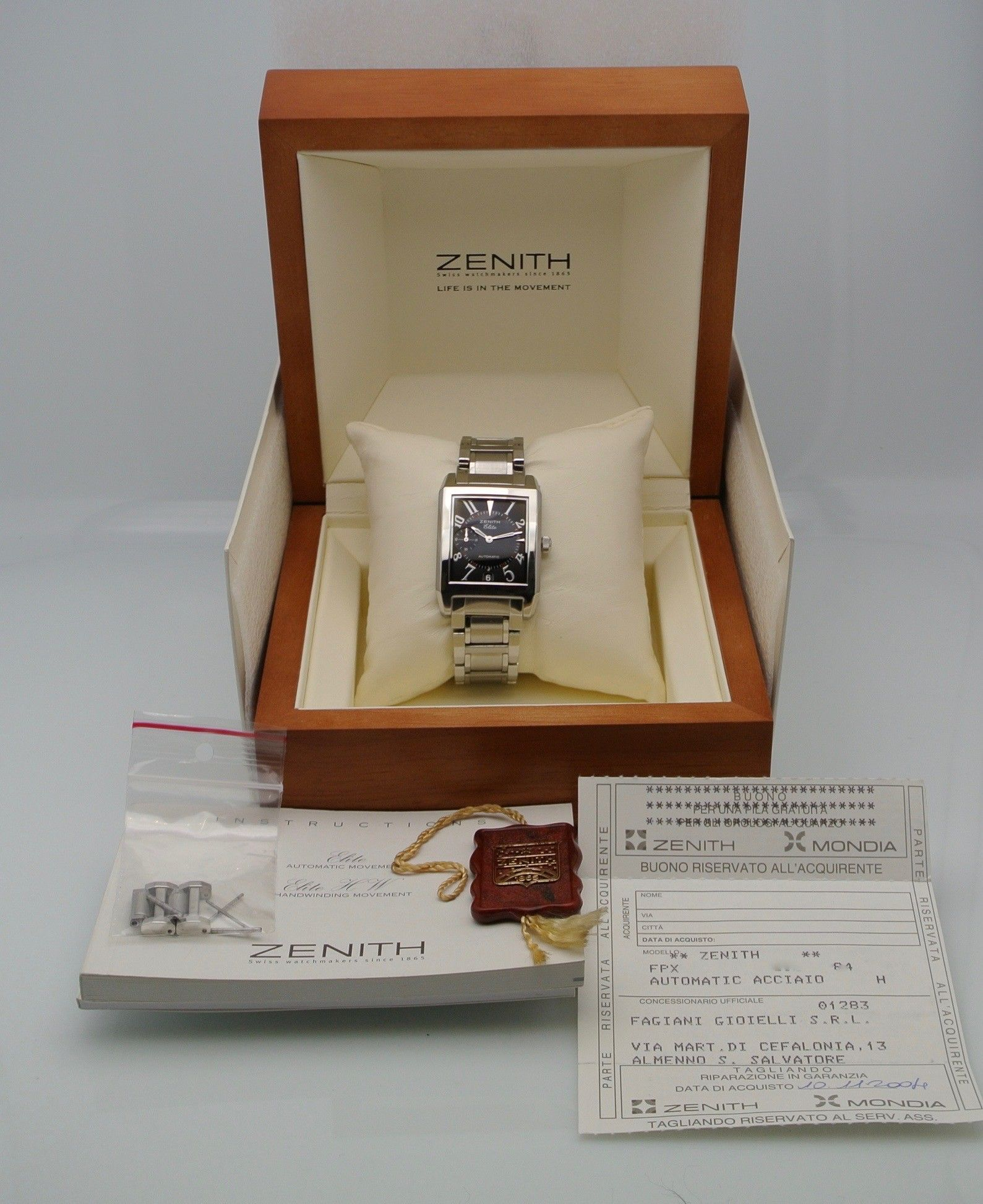 Zenith Elite Port Royal V steel NOS