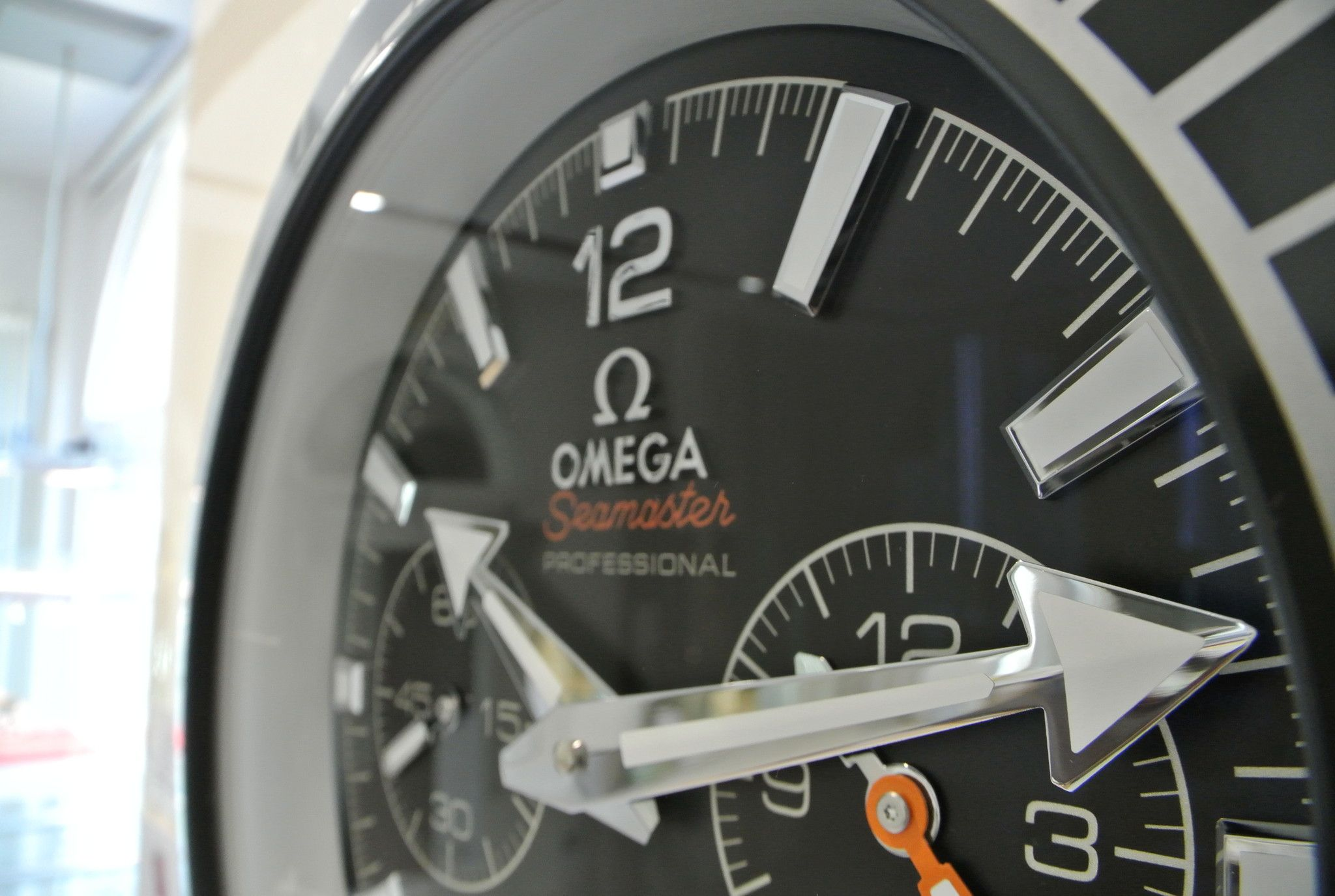 Omega WALL CLOCK SEAMASTER CHRONO ORIGINAL