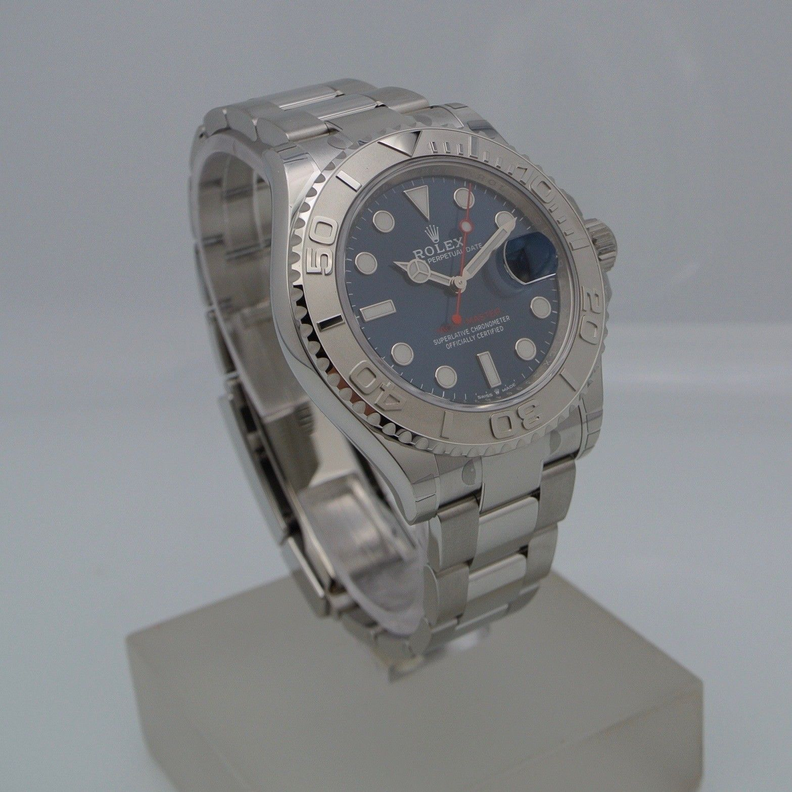 Rolex Yacht-Master 40 Dial blue