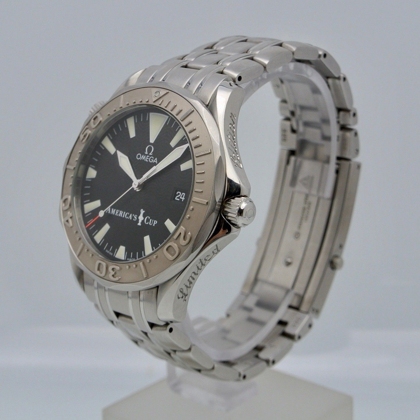 Omega Seamaster AMERICA'S CUP' 2001 Limited Edition