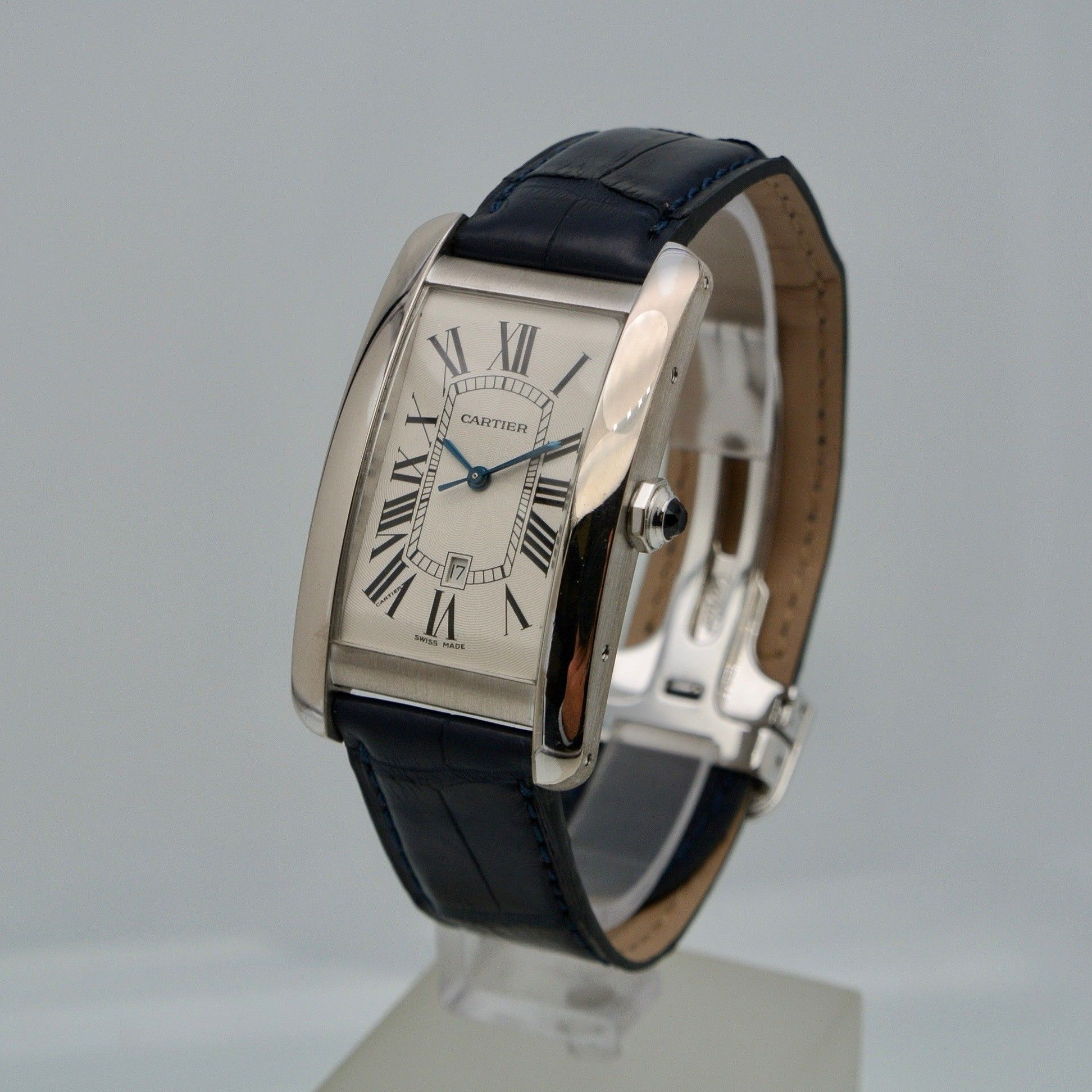 Cartier Tank Ame'ricaine big size White Gold