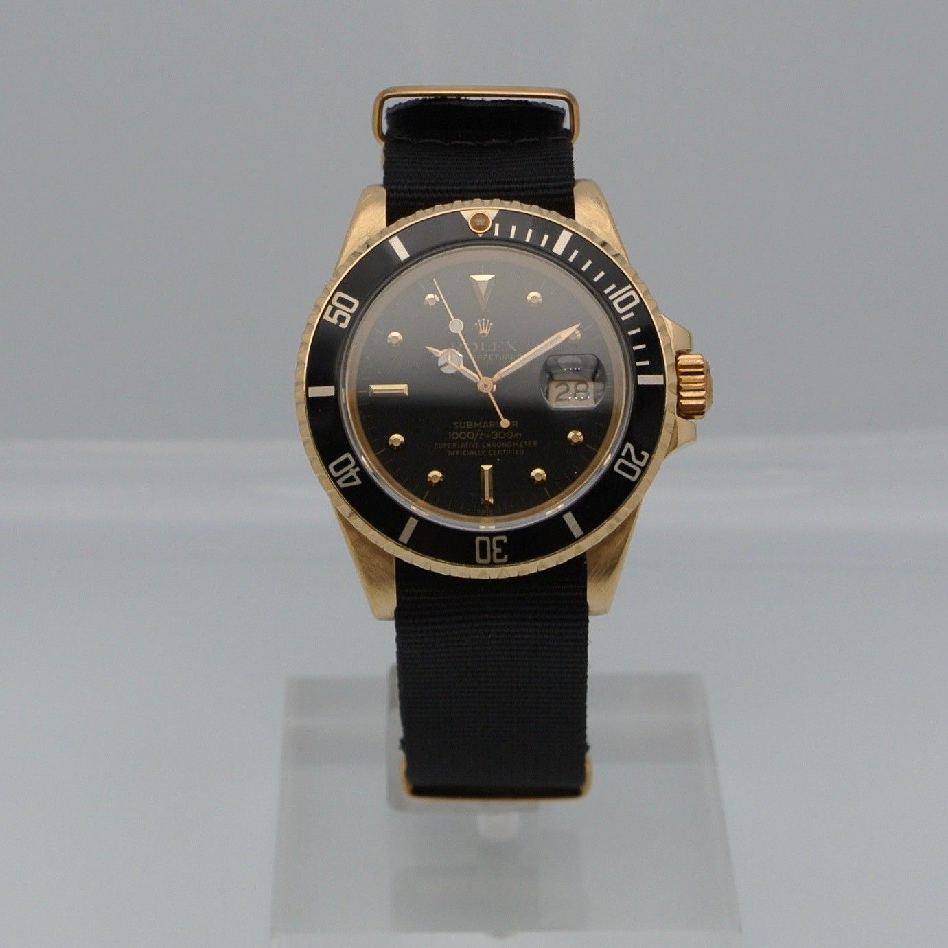 Rolex Submariner Date Yellow Gold Matt Dial