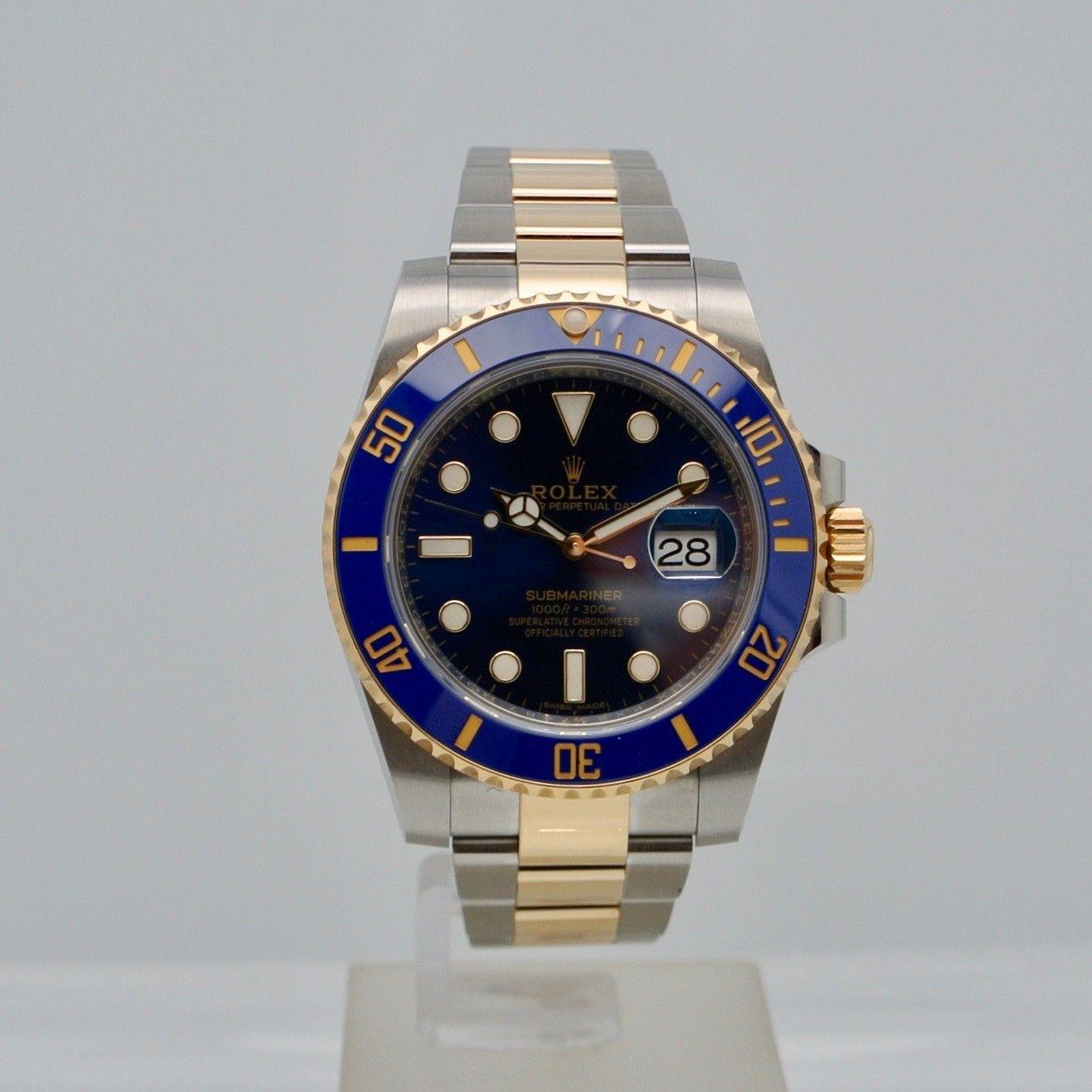 Rolex Submariner Date Blu