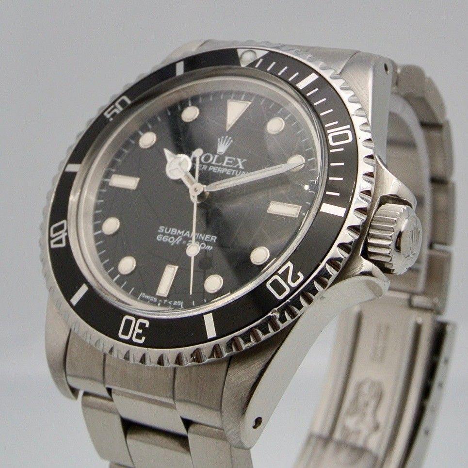 Rolex Submariner 5513 no Date Spider Dial