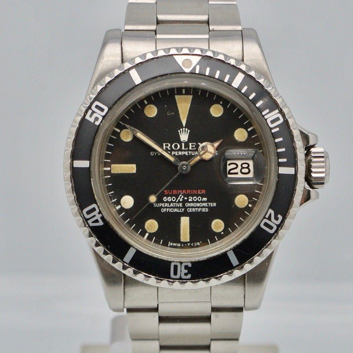 Rolex Submariner Date Red MK IV