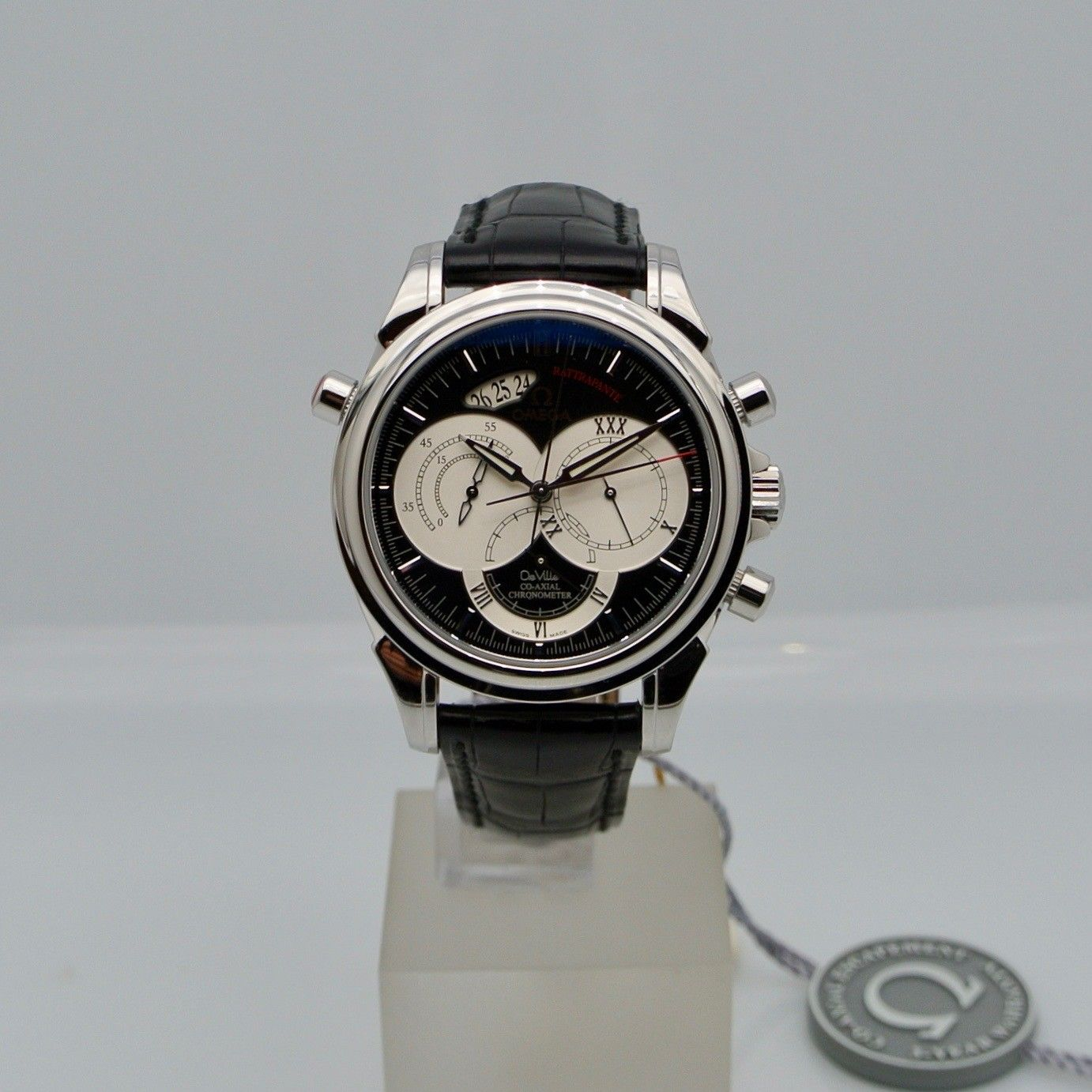 Omega De Ville Co-Axial rattrappante New Old Stock
