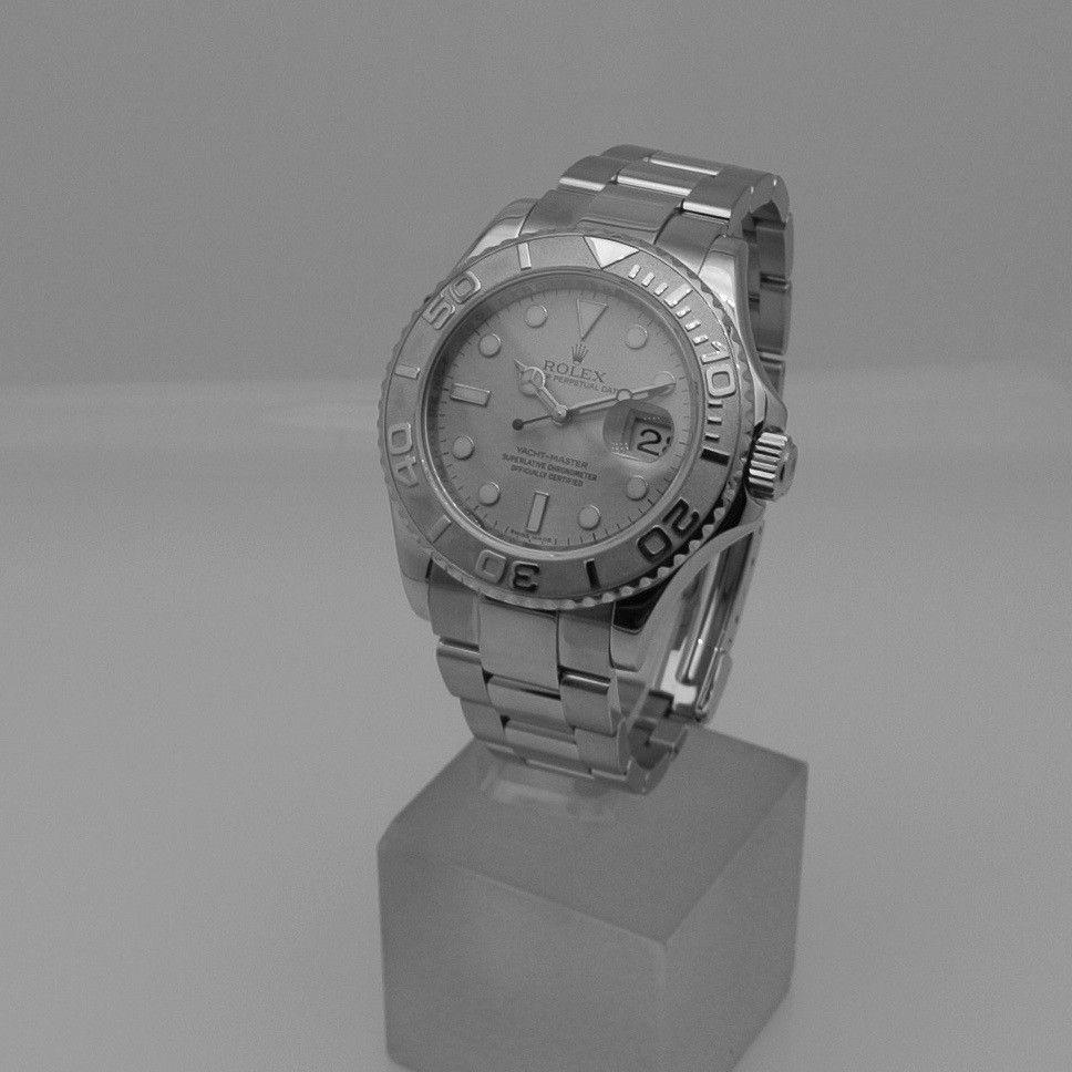 Rolex Yacht-Master 40 platinum dial