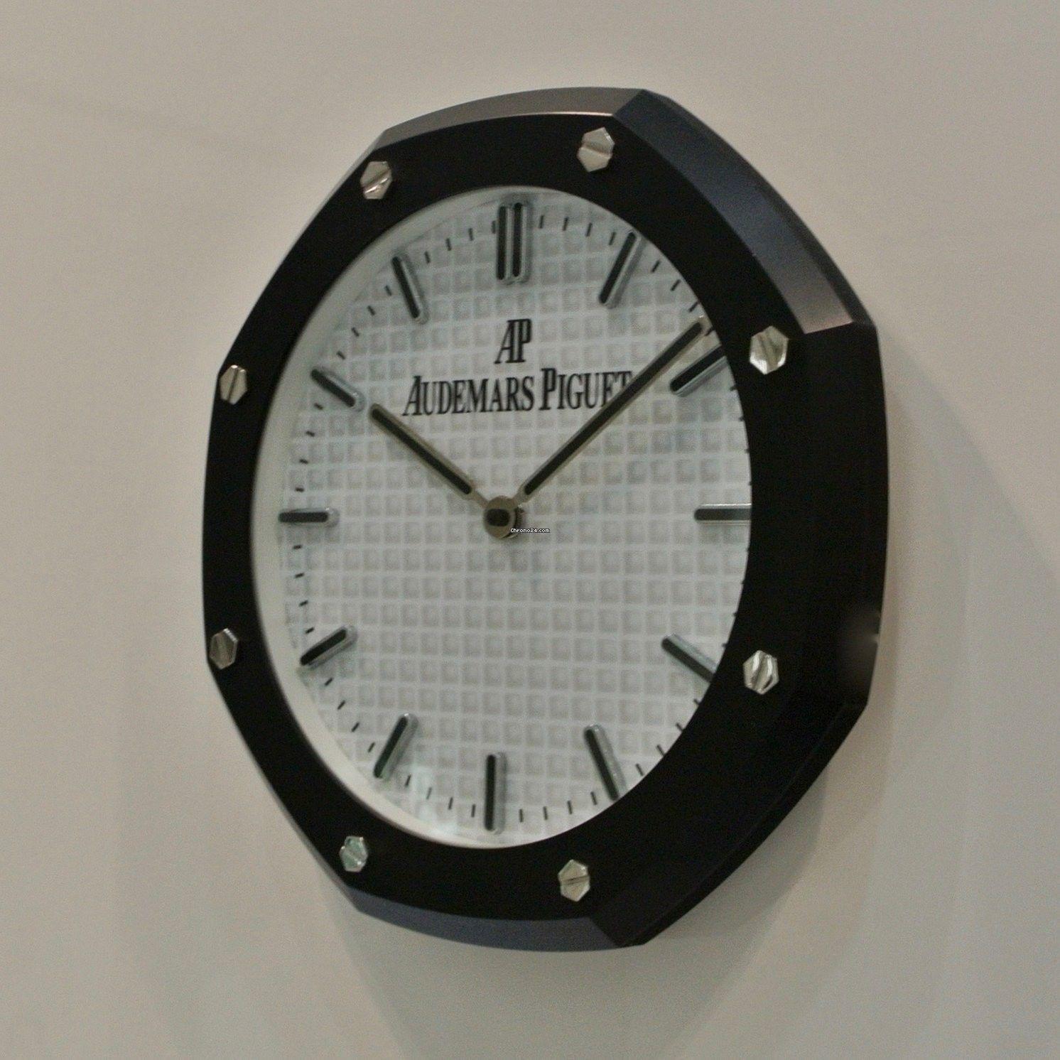 Audemars Piguet Original Wall Clock Rare Black Model