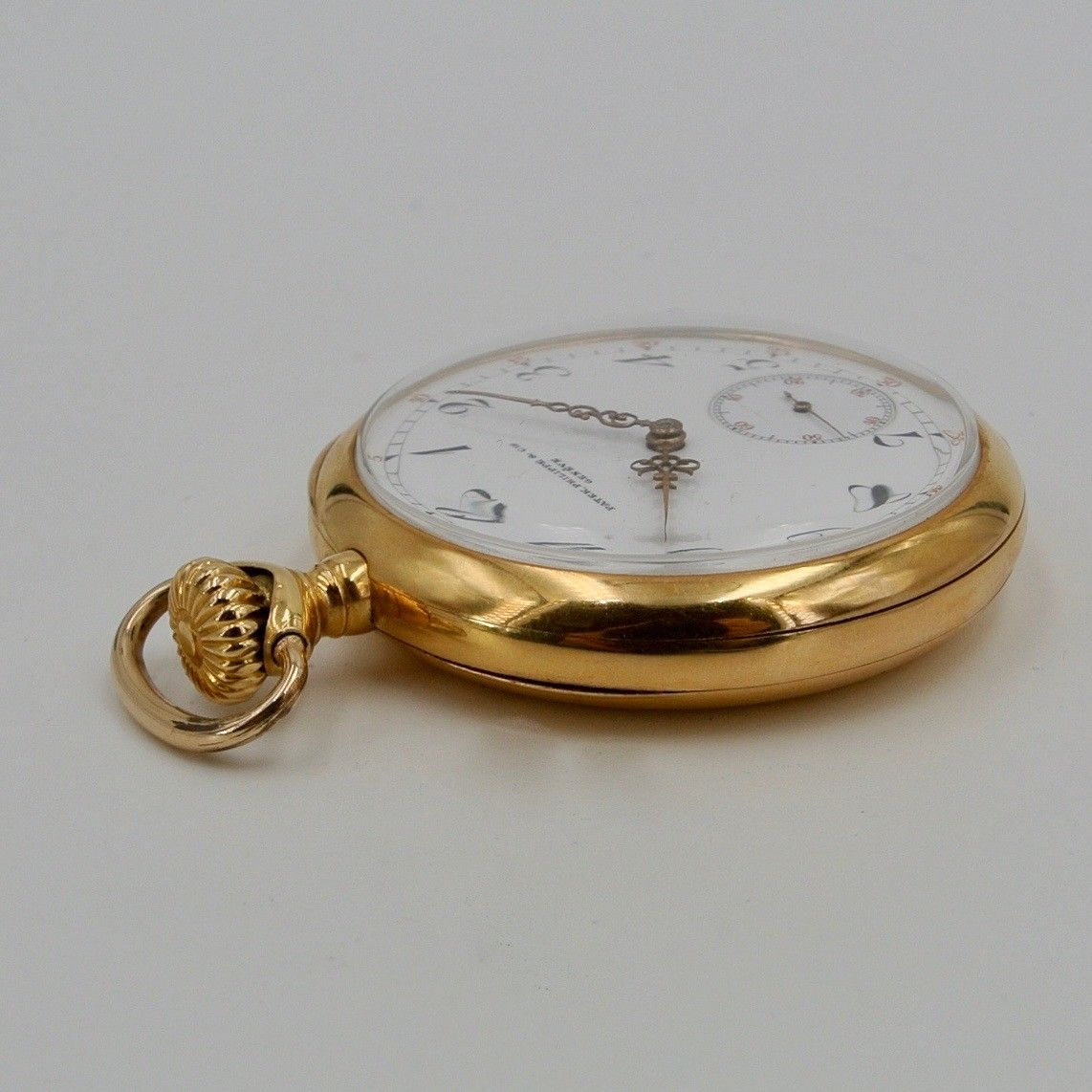 Patek Philippe Poket Watch made for Swope & Nhef Indiana USA